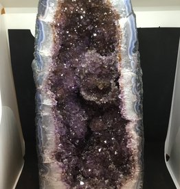 Nature's Expression Amethyst Geode Church