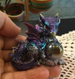 Kheops International Iridescent Dragon Hatchlings - with marble 2''