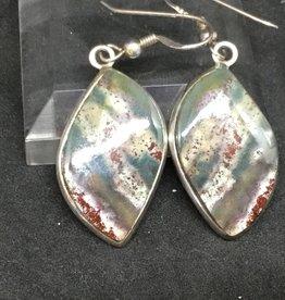 Green Multi Jasper Earring