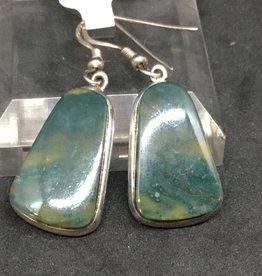 Green Jasper Earring