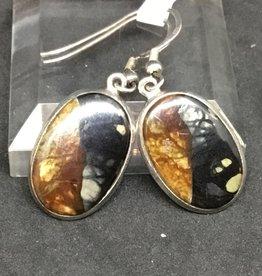 Silverleaf Jasper Earring