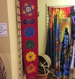 Desiree Designs Small Handpainted Chakra Banners