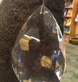 Crystal Peddler Window Crystal - Large Teardrop