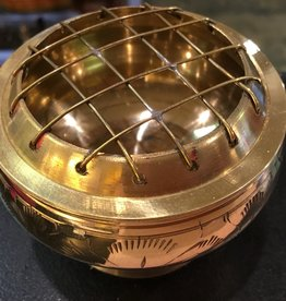 Kheops International Brass Burner with Grid