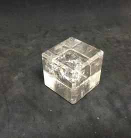 Family Rocks Quartz Crystal Cube