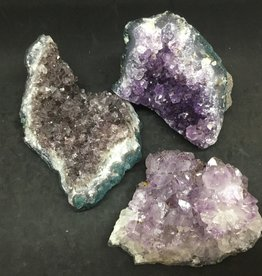 Family Rocks Amethyst Cluster - palm size