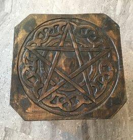 Kheops International Wood Pentacle Altar Table