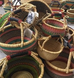 Babatree Baskets African Round Market Basket