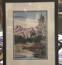 Pacific Music and Art Sue Coleman Art Framed, 9X12