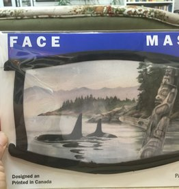 Pacific Music and Art Face Masks