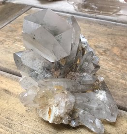 Family Rocks Quartz Crystal Cluster