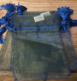 Kheops International two tone organza bags with tassels, small