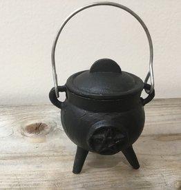 Kheops International Pentacle Cast Iron Cauldron (3 inch)