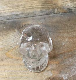 Nature's Expression Nice beautiful rainbow Quartz Crystal Skull