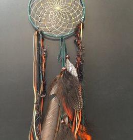 Monague Native Crafts Ltd. 6'' Dreamcatcher Green Fall