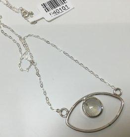 Crystal Earth Studio Eye Moonstone Necklace