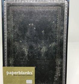 Paperblanks Old Leather Midnight Steel Midi Journal
