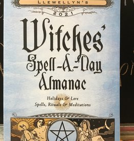 Dempsey Distributing Canada Witches' Spell A Day Almanac 2021
