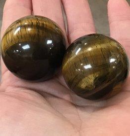 Family Rocks Tiger-Eye Sphere
