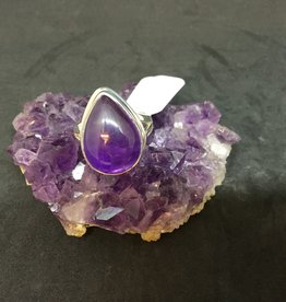 Impetus Jewellery Inc. Amethyst Silver Ring - Size 7