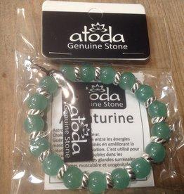 Atoda Atoda Grounding Aventurine Bracelet with silver