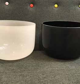Bright Int. Trade Center YIN YANG Crystal Bowl Set, includes case