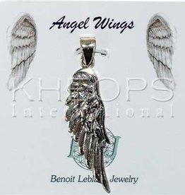 Kheops International Angel Wing  Silver Pendant