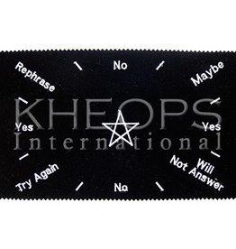 Kheops International Pendulum Velvet Mat - Pentacle 11x7