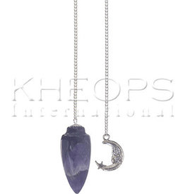 Kheops International Amethyst Pendulum - moon