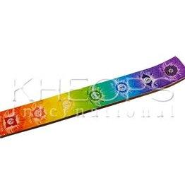 Kheops International Wood Incense Holder - 7 Chakra
