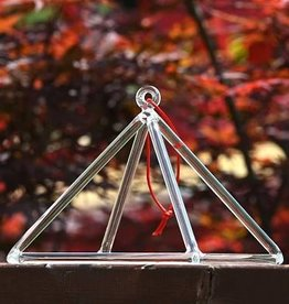 Bright Int. Trade Center Crystal Pyramid, 9 inch