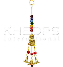 Kheops International Hanging prayer bells with buddha chakras