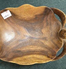 Desiree Designs Wood Turtle Bowl