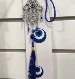 Kheops International Evil Eye Talisman Protection & Fatima Hand & tassel