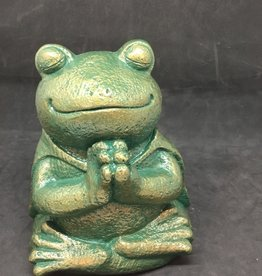 Creating Dharma Stone Frog Statue