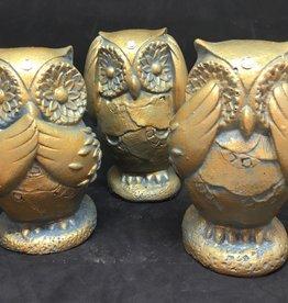 Creating Dharma Stone Owl Statue