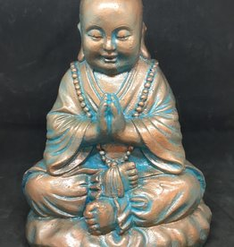 Creating Dharma Stone Monk Statue