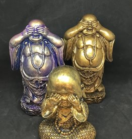 Creating Dharma Stone Buddha Statue -