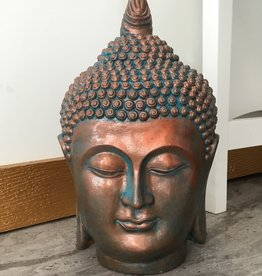 Creating Dharma Stone Buddha Head