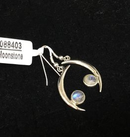 Crystal Earth Studio Twilight Moonstone Earrings