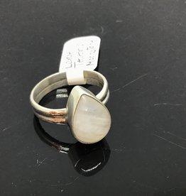 Large Teardrop Moonstone Ring