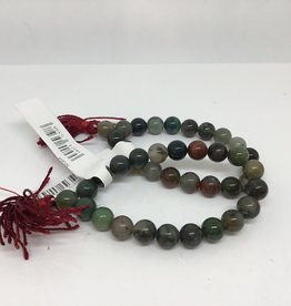 Desiree Designs Prayer Bead Bloodstone Wrist Mala