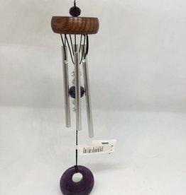 Dempsey Distributing Canada Mini Stone Chime - Purple