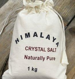 Nature's Expression Plain Himalayan Bath Salts - 1 kilo