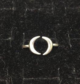 Crystal Earth Studio 2 Moons Ring