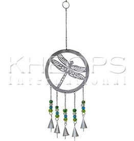 Kheops International Metal Bells with Dragonfly 18inch
