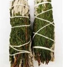 Crystal Peddler Small White Sage and Cedar Wands