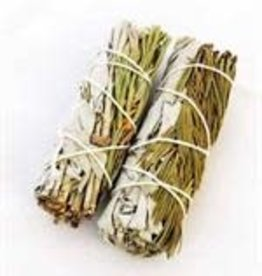 Crystal Peddler Small White Sage and Pine Wands