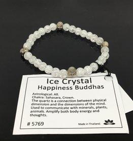 Atoda Atoda Crystal Four Buddhas Happiness Bracelet