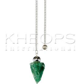 Kheops International Natural Calcite Pendulum